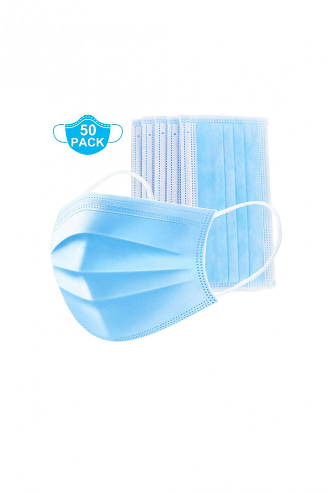 3Ply Disposable Mask (Pack of 50)
