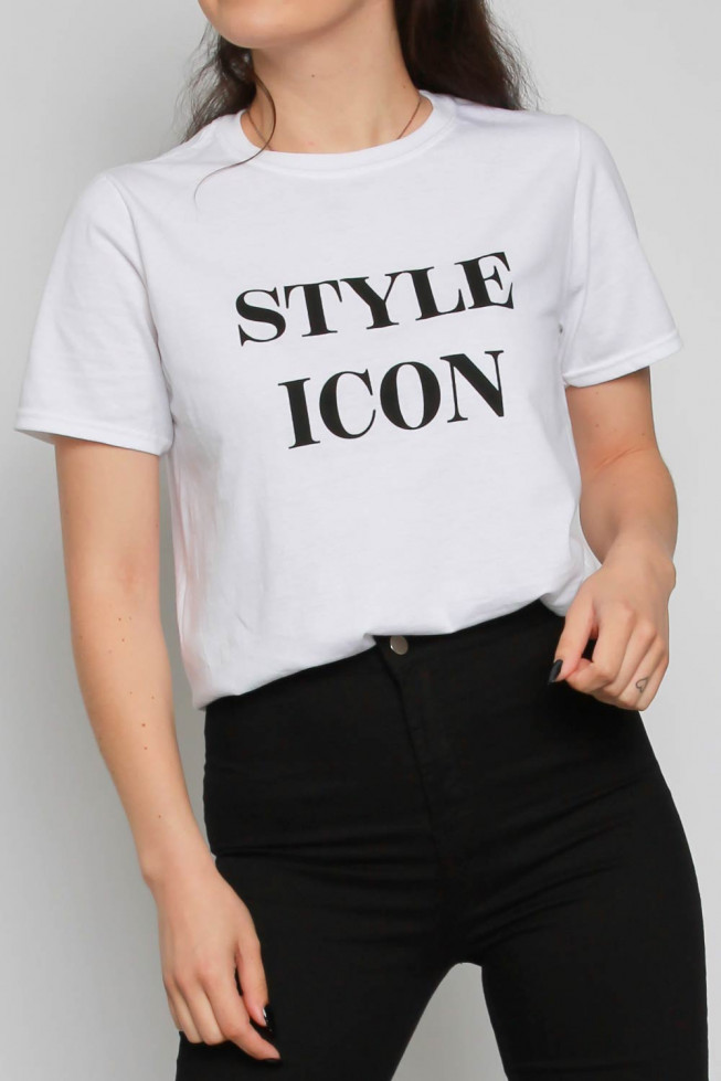 Style Icon Slogan Oversized T-shirt