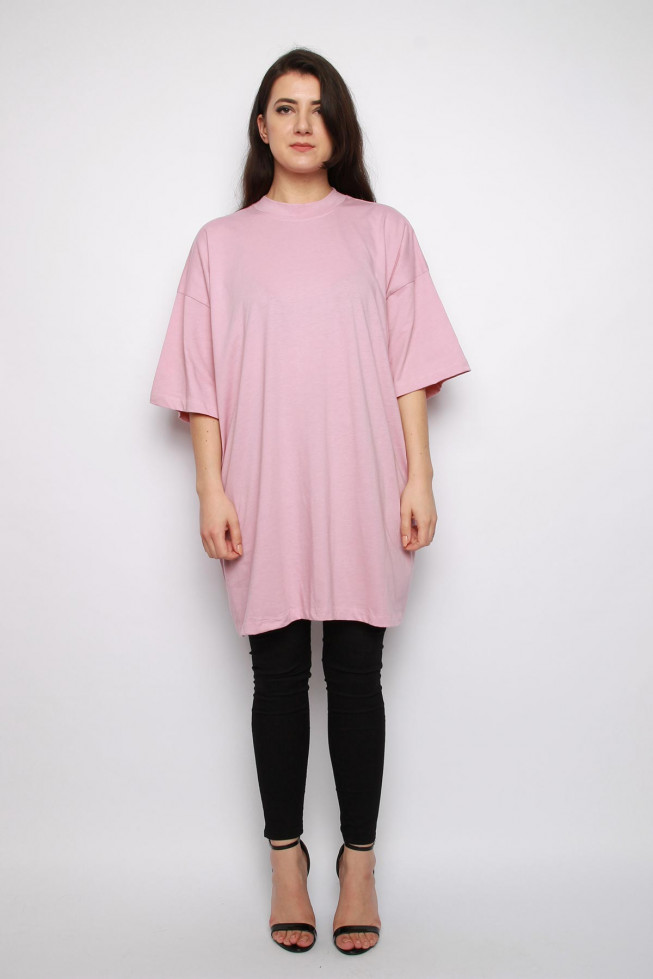 Basic Oversized T-shirt Dress