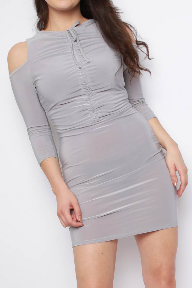 Ruched Skliny Dress