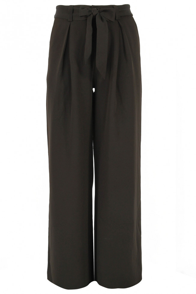 Plus Size Wide Leg Trousers