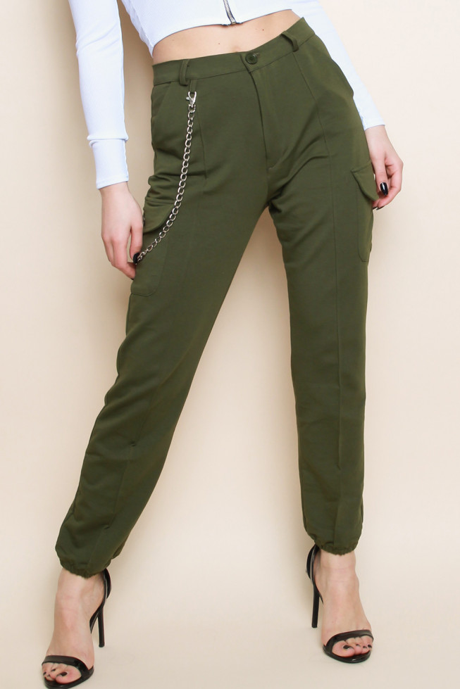 Chain Cargo Trousers