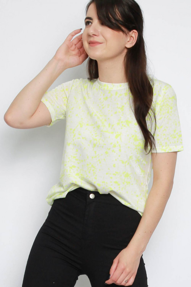 Neon Paint Splatter T-shirt