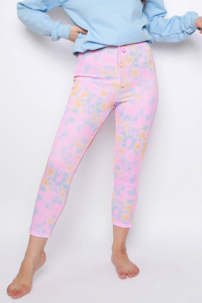 Tie Dye High Waisted Joggers