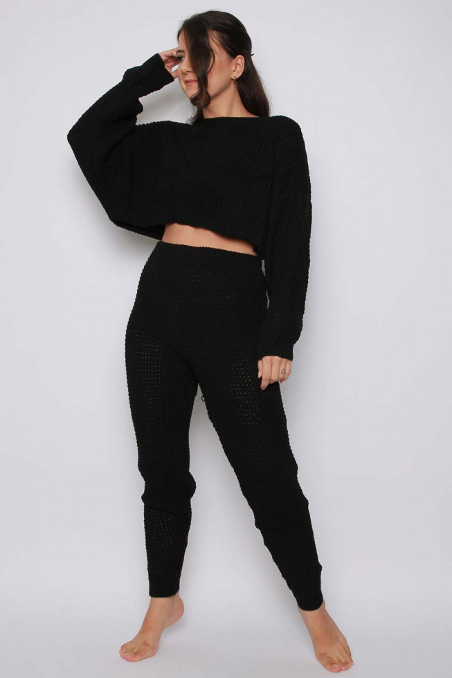 Jumper & Jogger Knitted Co-ord Lounge Set