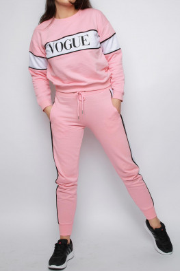 Vogue Sweatshirt & Jogger Co-ord Lounge Set