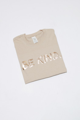 Foil Be Kind Oversized T-Shirt