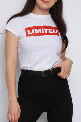 LIMITED Slogan T-shirt