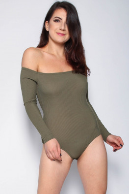 Bardot Off Shoulder Bodysuit