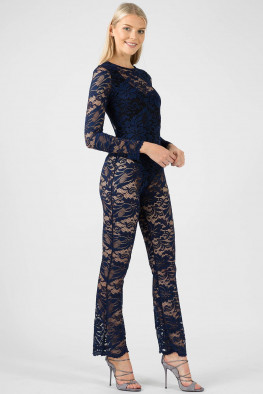 Celeb Inspired Lace Jumpsuit