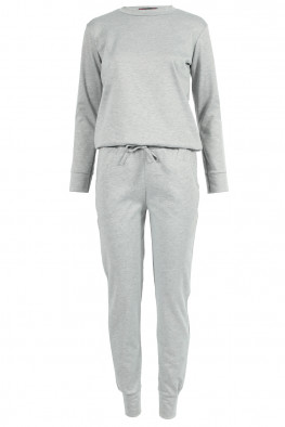Plain Top & Jogger Lounge Suit