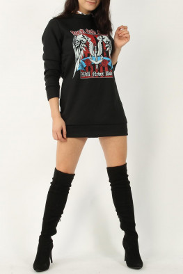 Rock & Roll Sweater Dress