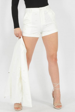 Pearl High Waisted Shorts