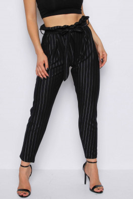 Stripe Cigarette Trousers