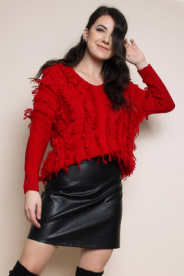 Tassel Knitted Jumper