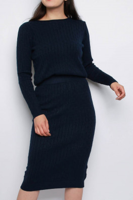 Knitted Jumper & Midi Skirt Co-ord Set