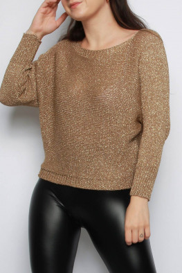 Metallic Knitted Jumper