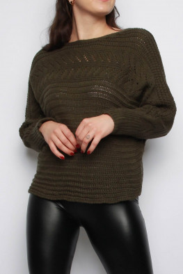Chunky Knitted Batwing Jumper
