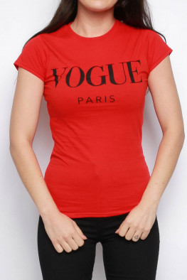 Vogue Slogan T-shirt