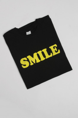 Smile Slogan Oversized T-Shirt