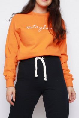 Stay Home Oversized Sweatshirt
