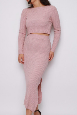Jumper & Skirt Knitted Co-ord Lounge Set