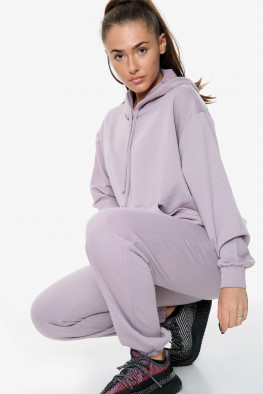 Oversized Hoodie and Jogger Lounge Set