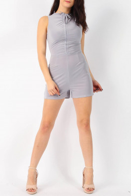 Slinky Ruched Playsuit