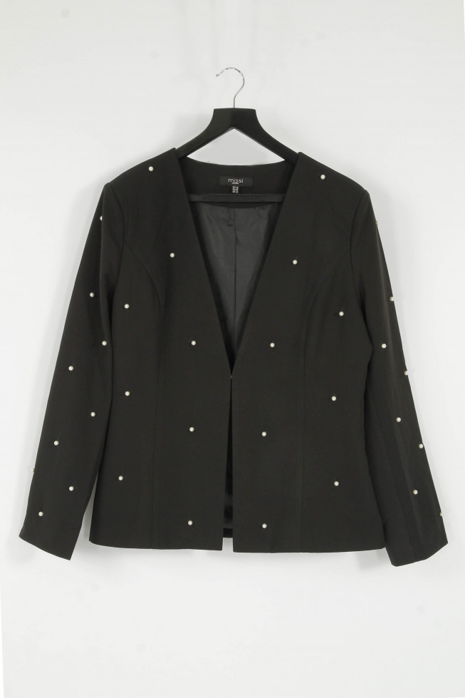 Plus Size Pearl Tailored Blazer