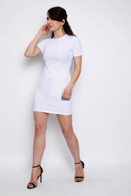 Basic Ribbed Bodycon Dress
