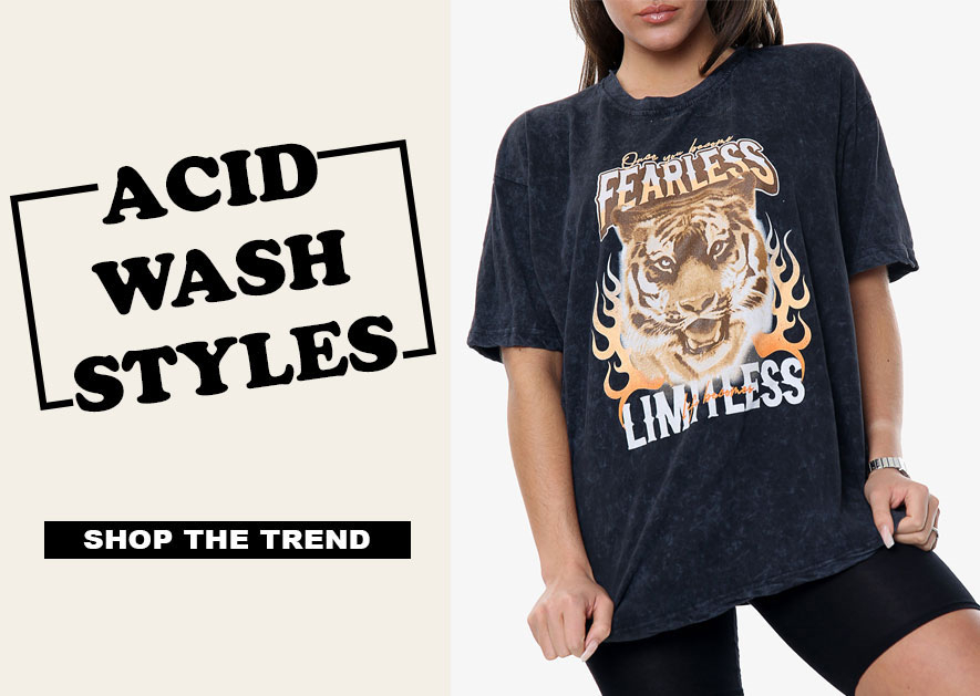 Acid Wash Styles - Shop The Trend