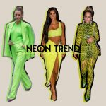 Neon bright colours trend