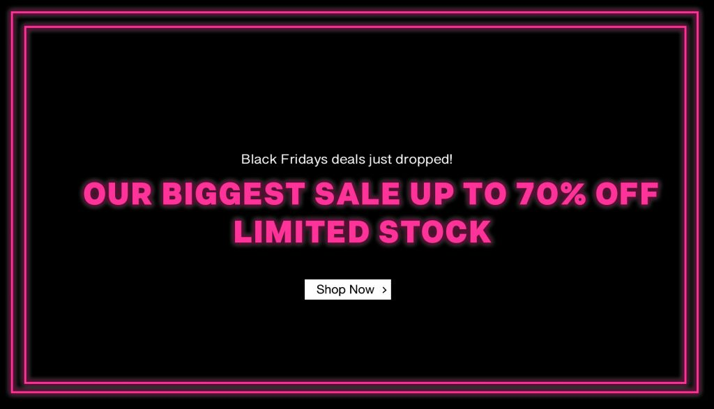 Black Friday Sale Up To 70% OFF Limited stock