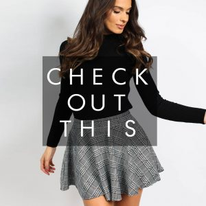 New Women Ladies Special Check Blazer Skirt Co-Ord Set For Formal Wear Best UK